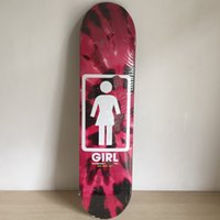 Wholesale GRIL Brand skateboarding deck for new sk8ers red logo with size quot Pattern Skate Deck Patins Street