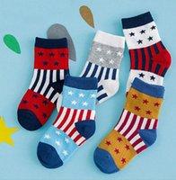 baby gift socks - Quality Kids socks thick years Boneless soft children baby socks winter stars fashion boys girls cotton spandex socks gifts