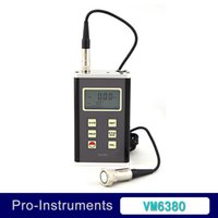 accelerometer vibration - Lantek Digital Vibration Meter Axis Piezoelectric Accelerometer Sensor Vibrometer Vibration Tester VM