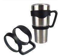Wholesale NO LOGO handle for YETI Rambler Tumbler car cup OZ stainless steel beer cups by DHL