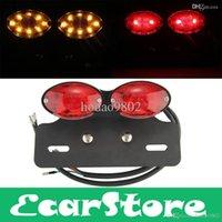 atv plate - ATV Turn Signal Brake License Plate Integrated Light Lamp Motorcycle LED
