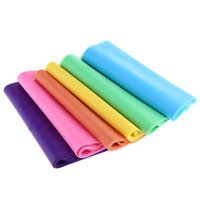 Wholesale Colors Yoga Pilates Workout Aerobics Rubber Resistance Bands Fitness Loop Stretch Crossfit Elastic Band Fitness