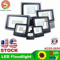 led floodlights - 2016 Hot Sales W W W W Outdoor Waterproof Led Floodlights Warm Cool White IP65 Led Flood Lights AC V