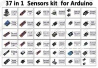 Wholesale Free Shippiing in Sensor Kit For Arduino Starters keyes brand in stock good quality low price
