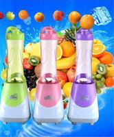 Wholesale Mini Blender Safety Blender Mini Blender Hot Family Electric and Safety Blender Fashion Home Portable and More Color Blender