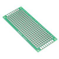 Wholesale 5XDual Sides Prototype Printed Circuit Board PCB Tinned Breadboard x70mm FR4 Holes FR4 Glass Fiber x70mm
