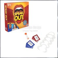 Big Kids best christmas pack - 2016 Speak Out Game KTV party game cards for party Christmas gift newest best selling toy original packing