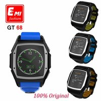 Wholesale New Sport Bluetooth Smart Watch Luxury Wristwatch GT68 Smartwatch With Dial SMS Remind Pedometer For IOS Android System Phone