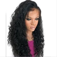 baby ace - Glueless fulll ace wigs A grade curly front lace wigs density brazilian human hair wigs with baby hair