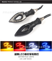 Wholesale Tuning Parts motorcycle scooter moped turn light LED lights turn lights