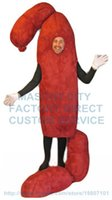 adult dog food - SAUSAGE LINKS mascot costume adult size cartoon fast food sausage hot dog theme anime cosply costumes carnival fancy dress