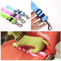 Wholesale 100PCS Adjsutable Pet Dog Car Seat Belt Puppy Car Product Accessory Teddy Leash Lead