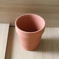 Wholesale Custom Classic Terracotta Red Ceramic Medium High Planter Flower Pot Made In China