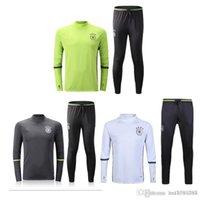 bayer thailand - Germany Thailand Quality Latest Football Training Set Long Sleeve Soccer Soccer Pants