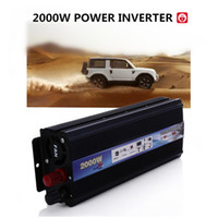 ac dc voltage converter - 2000W Power Inverter Car Vehicle Voltage USB DC V V to AC V V Power Inverter Adapter Converter Car Travel Inverters