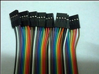 Wholesale x pin dupont cable wire p p Ribbon cable female motherboard connect two header cm