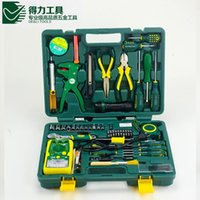 Wholesale The Best Quality DL1050G a set DELI Household multifuncional repair tool set Durable in use