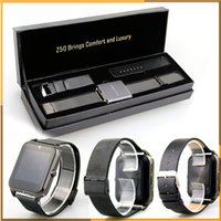 Wholesale Z50 Smart Watch Touch Screen Bluetooth inch LCD MTK6261 G GSM OGS Passometer Watch for iphone Samsung phone