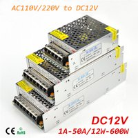 Wholesale DC12V Switching Power Supply A A A A A A A A A A LED Lighting Transformers