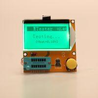 Wholesale Multi functional LCD Backlight Transistor Tester Diode Triode Capacitance ESR Meter MOS PNP NPN LCR