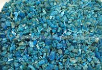 apatite gem stone - 100g blue apatite natural raw crystal gem stone Natural Mineral Specimen F422