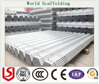 Wholesale GI PIPE Hot Dipped Galvanized Tube Steel Pipe Q235 Scaffolding Material