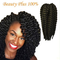 Wholesale Best Seller of Havana Mambo Twist Crochet Braid Hair Synthetic crochet braids senegalese Twists Braiding Hair Extension