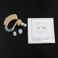 Wholesale TV Cyber Sonic Tone Hearing Aids Aid Behind The Ear Sound Amplifier Sound Adjustable Kit