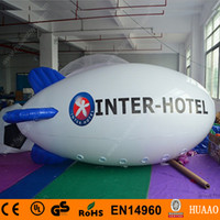 advertising blimps - New m ft Long Inflatable Advertising Blimp Inflatable Zeppelin Airship with Digital Logo Printing