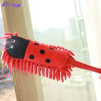 Wholesale Creative Cartoon Shape Soft Microfiber Dusters Cleaning Anti static Dust Home Magic Clean Tools Household