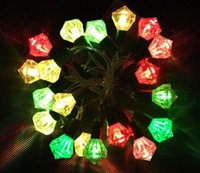 battery operated patio lights - 10LEDs patio string lights decoration battery operated LED garden lights Christmas light string festival decorations supplies