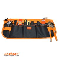 Wholesale HORUSDY Pocket Pouch Electrician tool bag Multifunction Carpenter Contractor Construction Tool Belt Bag