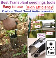 Wholesale Steel Agricultural Transplanting Seedlings Tools Garden Transplanter Perfect Garden tool Best save time and efficiency