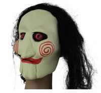 animate themes - Halloween Hot DHL Cosplay Mask Saw Soul Masks Send Fake Saw Saw Animated Movie Theme