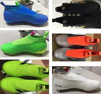 green shoelaces - new mens No shoelaces high ankle fooTbaLls bOOTs ACE purECOntROl FG outdoor ACE shoes sOcCEr original cLEAts