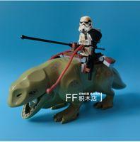 Wholesale Star Wars Dewback Desert Storm soldiers troopers figures Building Blocks toys Kids Action Figure gift