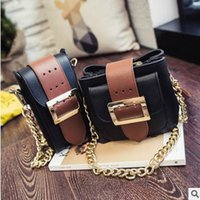 vente en gros 2016 femmes nouveau paquet de loisirs de sacs de mode simple, ceinture personnalisée boucle petite chaîne de package carré épaule Cross Body