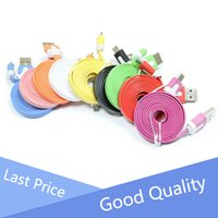 apple flats - For Mobile Phone Micro Flat Usb Android Data Cable m m m