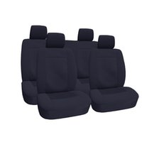 Wholesale OEM Fabric Auto Seat Covers for Benz Jacquard Pattern Non Fade Color Anti Mud Car Seat Covers