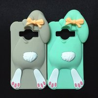 ace bunny - D Cartoon Bunny Back Cover Case For Samsung Galaxy Core Prime G360 G360H G3606 G3608 G3609 J1 Ace J110 Rabbit Silicon case