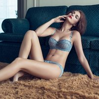 Wholesale A B C D Bra amp brief sets sexy bra sets Ultrathin transparent bra sexy lace bras embroidery underwear sets women bralette set