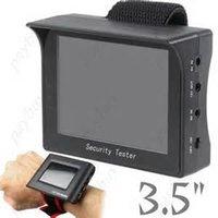 """Portátiles monitor de 3.5 """"Prueba Tester de seguridad CCTV cámara de vídeo para CCTV grabadoras de vídeo digital y de la red de LCD"""