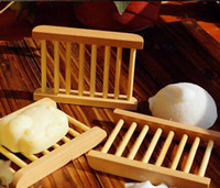 Wholesale 100pcs Fashional Bathroom Soap Tray Handmade Soap Dish Wooden Dish Wooden Soap Dish As Holder