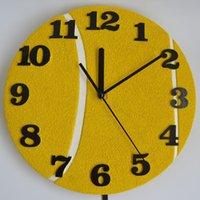 Wholesale Giftgarden Pendulum Wall Clock with Tennis Racket