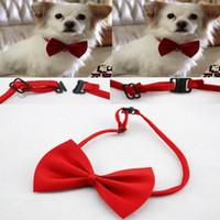 Wholesale Pet Neck Tie Dog Bow Tie Bowtie Cat Tie Pet Grooming Supplies