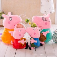 baby pigs - 2016 Plush Toy Red Pig Super Cute Pig Figure As Baby Gifts