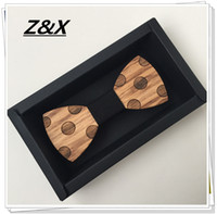 bamboo wood for sale - Hot Sale European Fashion Personality Accessory Geometric Design Good Wood Bow Tie For Men Butterfly Neck Tie