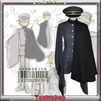 Wholesale Senbonzakura Vocaloid Kagamine LEN Cosplay Costume Cosplay Kimono Army Uniform