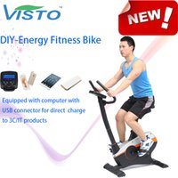 Wholesale Self generating Fitness Bike DIY Energy Fitness Bike Green Energy powered Self Generating Upright Exercise Bike