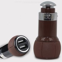 Wholesale For Iphone Samsung Ipad Mini Air Pro Universal High Quality Car Charger USB V A Dual Port With Retail Package